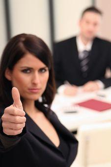Free Brunette Business Woman Stock Photos - 17280083