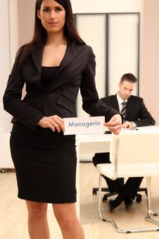 Free Female Manager Royalty Free Stock Photo - 17280095