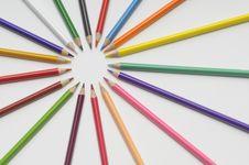 Free Crayons Royalty Free Stock Photo - 17281355