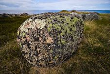 Free Big Boulder On Greater Zayatsky Island Stock Photography - 17281442