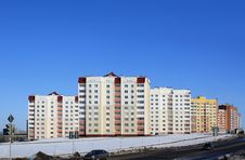 Free Apartment Buildings Royalty Free Stock Image - 17282706