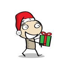 Free Little Man Christmas Stock Image - 17283291