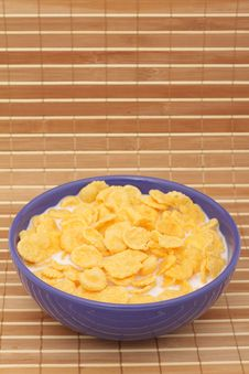 Free Cornflakes With Milk Stock Images - 17283374