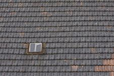 Free Window In Tiled Roof Stock Image - 17283421