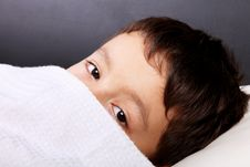 Child Slept Stock Photo