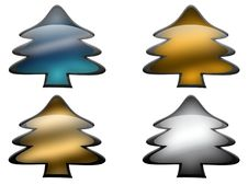 Free Glass Metal Pines Royalty Free Stock Images - 17283559