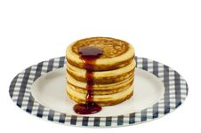 Free Stack Of Pancakes Royalty Free Stock Photography - 17284747