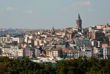 Free View On Galata Tower Royalty Free Stock Photography - 17285737