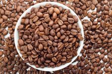 Free Coffee Beans In Bowl Royalty Free Stock Photography - 17286577