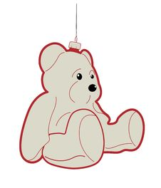 Free Teddy Bear Bauble Royalty Free Stock Photo - 17287855