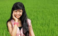 Free Teenage Girl Portrait Stock Images - 17288214