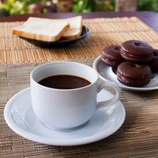 Free Cup Of Coffee Stock Photo - 17288790