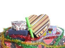 Free Pile Of Christmas Gift Royalty Free Stock Image - 17288876
