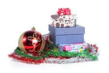Free Pile Of Christmas Gift Stock Images - 17288884