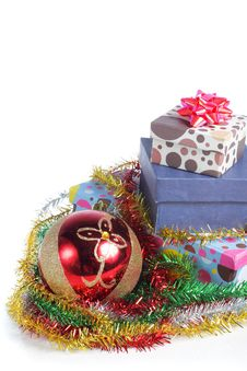 Free Pile Of Christmas Gift Royalty Free Stock Photo - 17288885