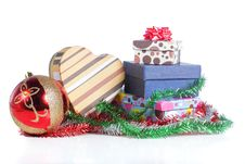 Free Pile Of Christmas Gift Royalty Free Stock Photography - 17288897