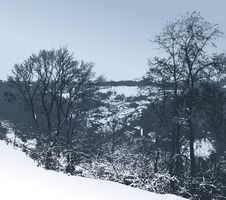 Free Winter Landscape Stock Photo - 17289700