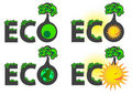 Free Eco Caption Logo Stock Photos - 17290443