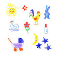Free Baby Icons Royalty Free Stock Images - 17291239