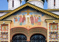 Free Fragment Of Ornament Of Facade Of Old Chapel Royalty Free Stock Photography - 17294177
