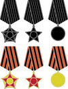 Free Soviet Orders And Medal Stock Images - 17295724