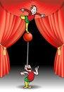 Free Acrobat Performer Royalty Free Stock Photo - 17298035