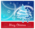 Free Merry Christmas Postcard Stock Photo - 17298350