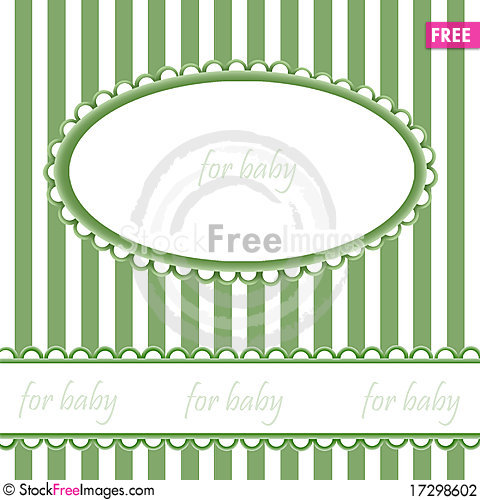 Free Babies Background With Frame Stock Photography - 17298602