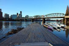 Free Platform And Dragon Boats. Royalty Free Stock Photo - 17290035
