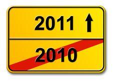 2010 - 2011 Royalty Free Stock Photos