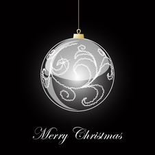 Free Vector Christmas Ball Royalty Free Stock Photos - 17290318