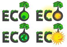 Free Eco Caption Logo Stock Photos - 17290443