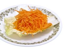 Free Fresh Grated Carrots Royalty Free Stock Photography - 17290507
