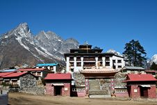 Free Tengboche - Buddhist Tibetan Monastery In Khumbu Stock Photos - 17290553