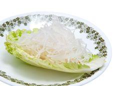 Free Fresh Grated Daikon Radish Stock Photo - 17290610