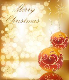 Free Vector Christmas Bal Royalty Free Stock Image - 17290616