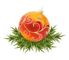 Free Vector Christmas Ball Royalty Free Stock Photo - 17290655