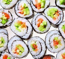 Free Japanese Sushi Stock Photo - 17291880