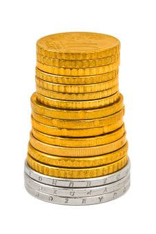 Free Stack Of Coins Stock Image - 17292371