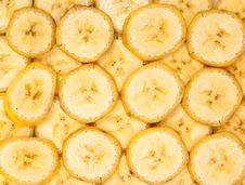 Free Chopped Banana Royalty Free Stock Images - 17292569