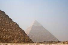 Free The Pyramids Of Cheops And Khafre Royalty Free Stock Photography - 17292607