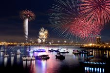 Free Fireworks Of Taipei City Stock Photography - 17292762