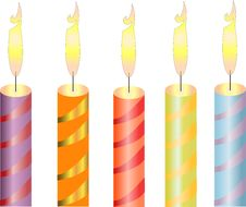 Free Candles, Object Royalty Free Stock Photo - 17293395