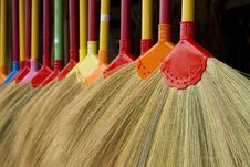Free Broom Royalty Free Stock Image - 17293816