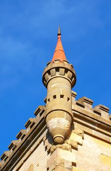 Free Old Small Tower On The Historic Building Royalty Free Stock Image - 17293906