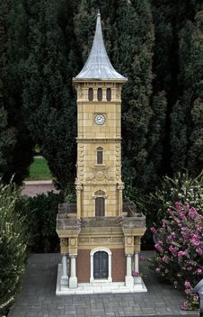 Izmit Clock Tower Royalty Free Stock Photography