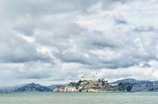 Free Alcatraz Before The Storm Royalty Free Stock Photo - 17294055