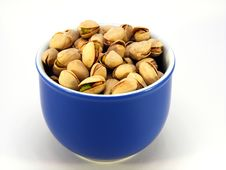 Free A Bowl Of Pistachio Nuts Stock Photo - 17294280