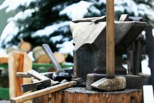 Free Anvil Royalty Free Stock Photos - 17294498