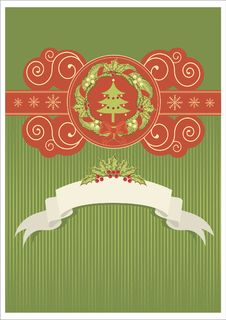 Free Christmas Card Royalty Free Stock Image - 17294706